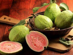 Guava rich in Vitamin C
