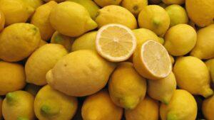 Lemon rich in Vitamin C