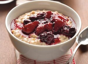 Oatmeal Foods rich in protein