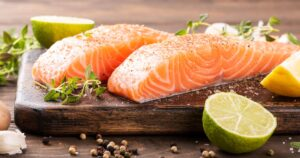 Salmon great source of DHA